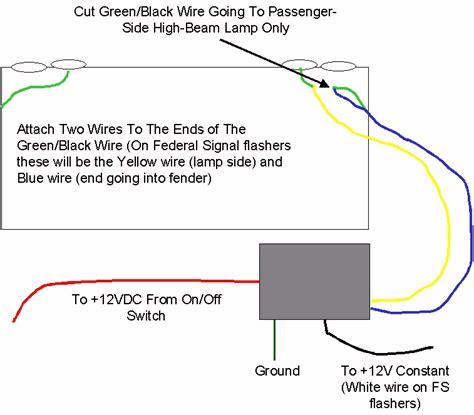 wig wag wiring diagram interceptor suv wig wag relay