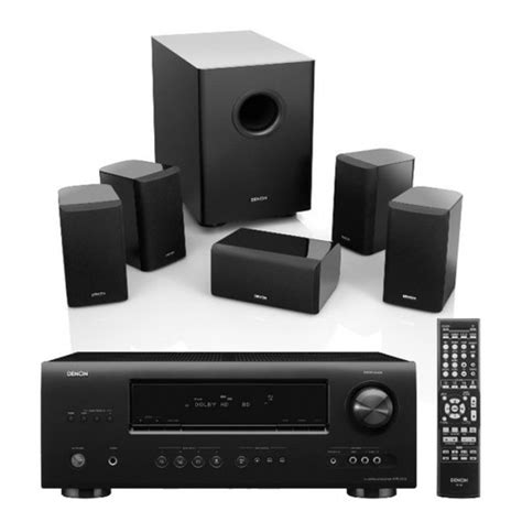 denon dht 1312xp home theater system kenabuy electronics