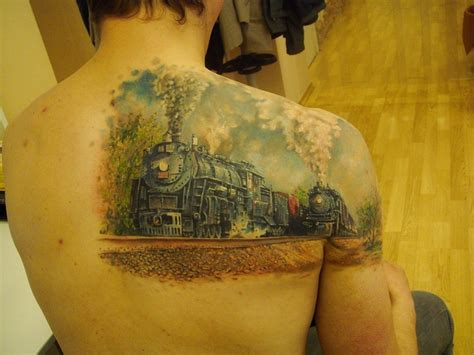 locomotives tattoos pinterest