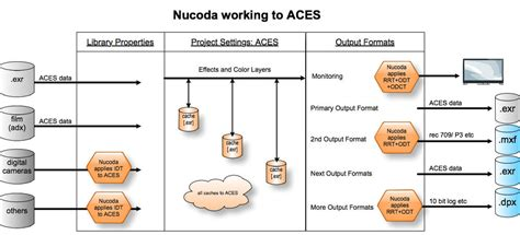 aces workflow the of aces with nucoda master finalcolor