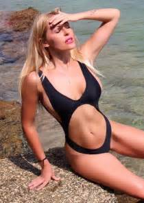Chairs Covers Black One Piece Swimsuit 2017 New Top Thong Bandage Bathing Suit