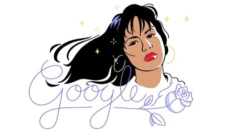 doodle anniversary animated doodle honors anniversary of selena s