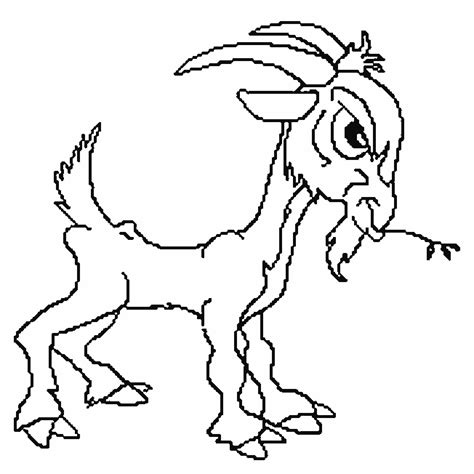 printable coloring pages free three billy goat gruff