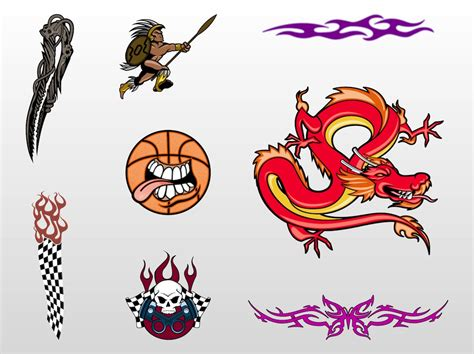 tattoo designer free cool designs vector