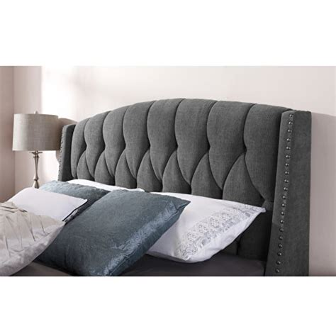 button tufted headboard queen dorel asia da6433m button tufted wingback headboard with