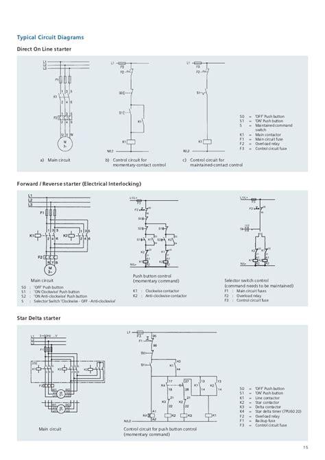 wiring diagram contactor siemens datasheet siemens