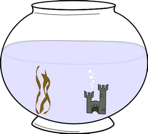 clipart fishbowl 2 clipart best clipart best