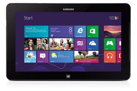 Tablet Samsung Windows 7 Samsung Ativ Tab 7 Xe700t1c G01au Windows 8 Pro Tablet Only Xe700t1c G01au Mwave Au