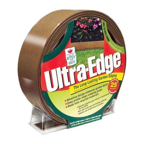 easy gardener ultra edge 20 ft composite garden lawn