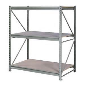 edsal shelving lowes shop edsal 96 in h x 72 in w x 48 in d 3 tier steel