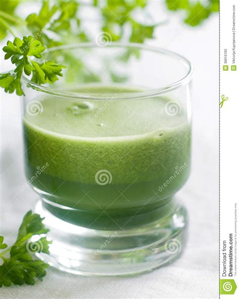Spinach Cucumber Detox Smoothie by Detox Juice Stock Photo Image 38916183