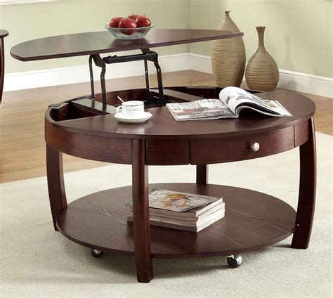 Pull Up Coffee Table Pull Up Coffee Table Design Furniture