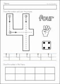 Learning To Write Numbers 1 10 Worksheets by 25 Best Ideas About Preschool Homework On