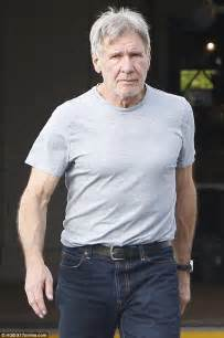 harrison ford takes calista flockhart for la lunch on