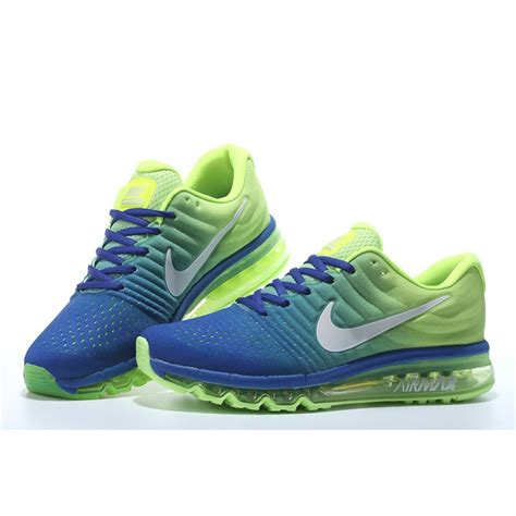 nike airmax motif nike airmax 2017 royal bluewhite voltmesh running shoes