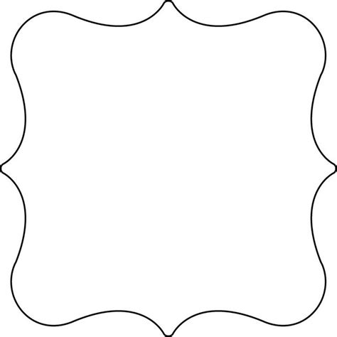 shaped templates cake templates clear scraps xl shapes caketemplates