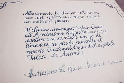 lettere per battesimo scrittura pergamena battesimo un ricordo in