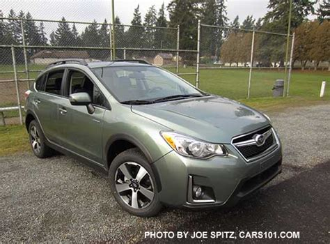 subaru crosstrek jasmine green 2016 subaru crosstrek hybrid touring jasmine green color