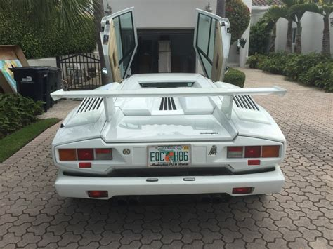 1989 Lamborghini For Sale 1989 Lamborghini Countach Lp112d 25th Anniversary For Sale