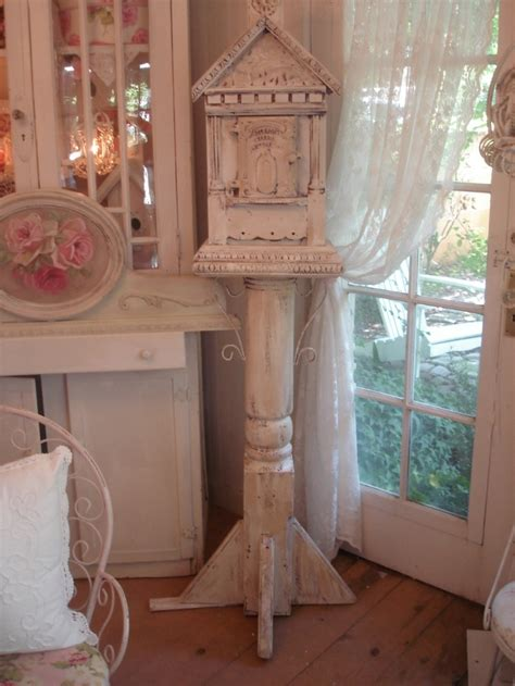 beautiful shabby chic bird house all things cottage y and shabby