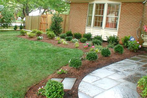 Basic Backyard Landscaping Ideas Simple Garden Landscape Ideas Garden Design Simple Landscaping Ideas Design Whit