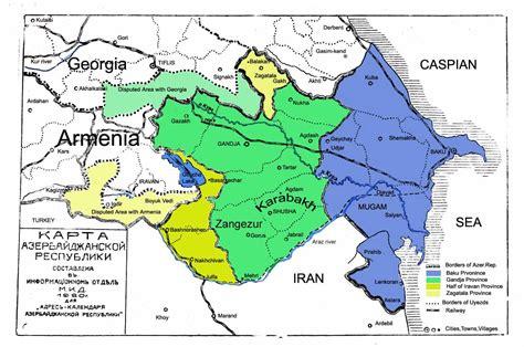 where is azerbaijan on a world map maps