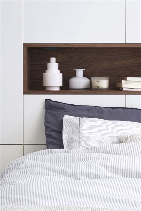 shelved headboards loft bedrooms with wood transformation home design and