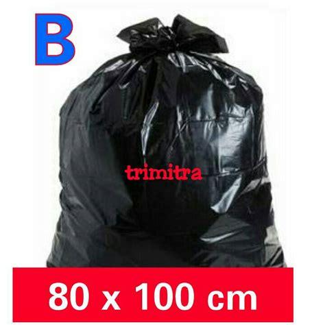 Kantong Plastik 60 X 100 Jual Kantong Plastik Sah Kresek Hitam Besar Jumbo Hd Pe
