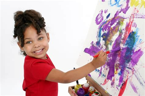 free painting for 4 year olds using projects to teach toddlers and children
