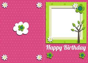 happy birthday cards to print cloveranddot
