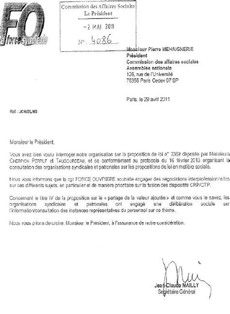 Exemple De Lettre Demande De Reclassement modele de lettre de refus de reclassement pour inaptitude