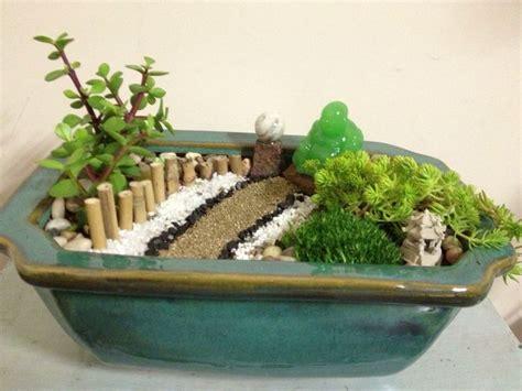 zen garten miniatur zen garden jade buddha hermosa terrariums