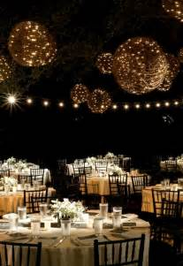 outdoor wedding lighting lighting ideas for weddings