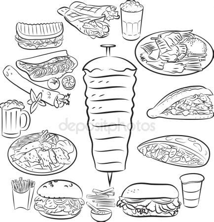 kebab clipart kebab stock vectors royalty free kebab illustrations