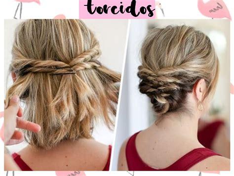 peinados de trenzas faciles para cabello corto peinados - Peinados Cortos Faciles