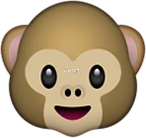 imagenes del emoji del mono quot monkey emoji quot stickers by emoji redbubble