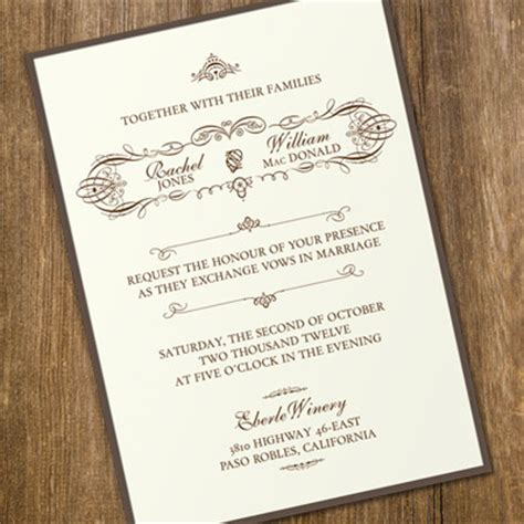 vintage invitation template best resumes