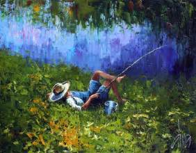 relaxing painting videos a relaxing day dima dmitriev