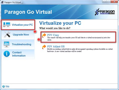 install windows 10 keep programs paragon go virtual 2015 free install windows 10 and keep