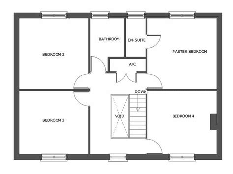 self build floor plans house plans for self build the ballingham houseplansdirect