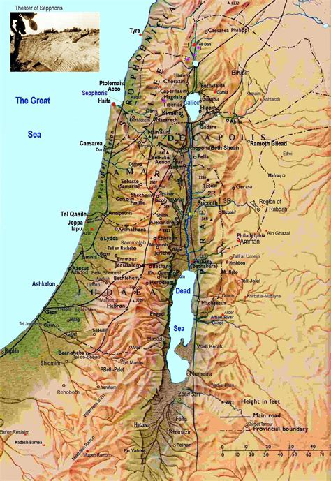 map of isreal israel maps printable maps of israel for