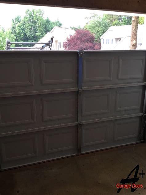 Garage Door Bottom Panel Replacement Residential Garage Door Installation Replacement Step By