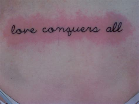 love conquers all latin tattoo designs my conquers all diy ideas