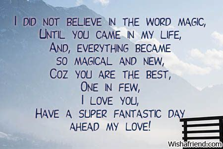 message for him day messages for him