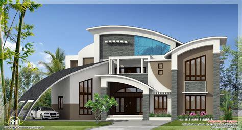 House Design And Ideas Unique Homes Unique Super Luxury Kerala Villa Home