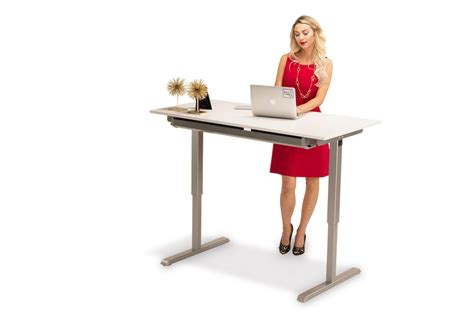 Hand Crank Height Adjustable Standing Desk Multitable Com Crank Standing Desk