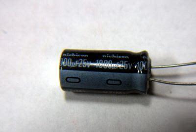 1000uf 25 volt capacitor 1000uf 25 volt radial electrolytic capacitor nichicon