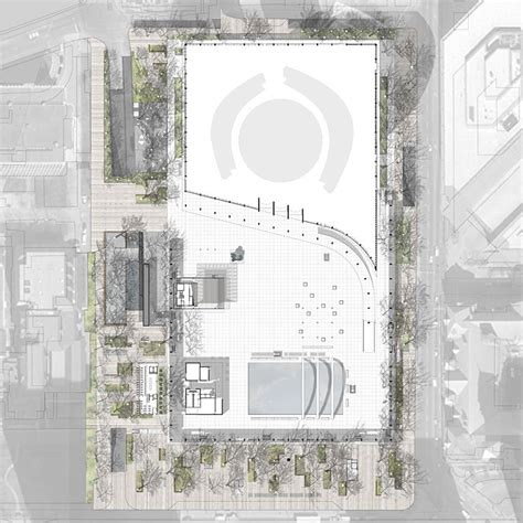 Home Design Floor Plans Plant Nathan Phillips Square Revitalization Competition