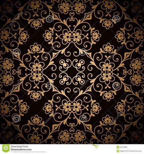gold pattern floral dark gold pattern royalty free stock photos image 33473888