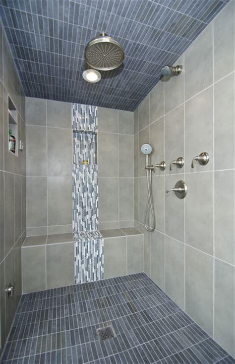 Bathroom Shower Photos Master Bath With Steam Shower Contemporary Bathroom Dc Metro By Summit Design Remodeling